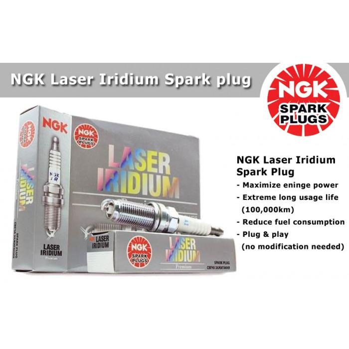 NGK Laser Iridium Spark Plug for Proton Exora Bold 1 6 CFE (Turbo)