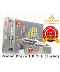 NGK Laser Iridium Spark Plug for Proton Preve 1.6 CFE (Turbo)