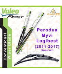 Valeo First Wiper Blade for Perodua Myvi 2011 - 2017 (2pcs/set)