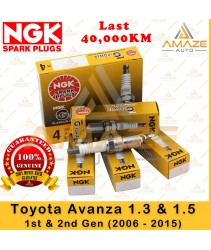 NGK G-Power Platinum Spark Plug for Toyota Avanza 1.3 & 1.5 (1st & 2nd Gen) 2006-2015