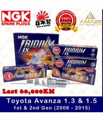 NGK Iridium IX Spark Plug for Toyota Avanza 1.3 & 1.5 (1st & 2nd Gen) 2006-2015