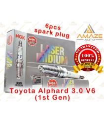 NGK Laser Iridium Spark Plug for Toyota Alphard 3.0 V6 (1st Gen)