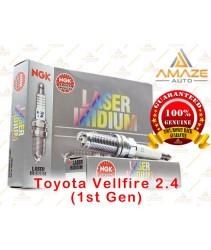 NGK Laser Iridium Spark Plug for Toyota Vellfire 2.4 (1st Gen)