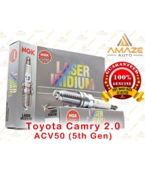 NGK Laser Iridium Spark Plug for Toyota Camry 2.0 ACV50 (5th Gen)