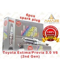 NGK Laser Iridium Spark Plug for Toyota Estima / Previa 3.0 V6 (2nd Gen)