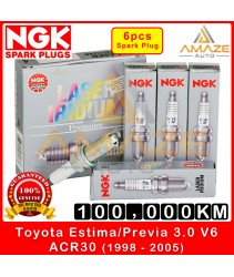 NGK Laser Iridium Spark Plug for Toyota Estima / Previa 3.0 V6 ACR30 (2nd Gen) (1998-2005) - Long Life Spark Plug 100,000KM
