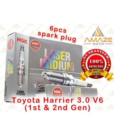 NGK Laser Iridium Spark Plug for Toyota Harrier 3.0 V6 (1st & 2nd Generation)