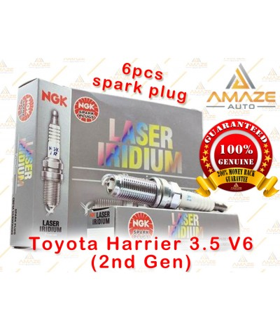 NGK Laser Iridium Spark Plug for Toyota Harrier 3.5 V6 (2nd Gen)