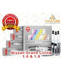 NGK Laser Platinum Spark Plug for Nissan Grand Livina 1.6 & 1.8