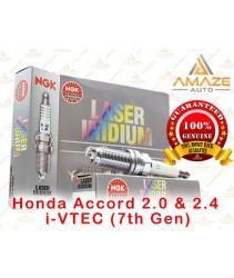 NGK Laser Iridium Spark Plug for Honda Accord 2.0 & 2.4 i-VTEC (7th Gen)