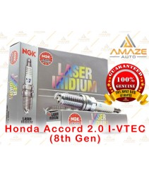 NGK Laser Iridium Spark Plug for Honda Accord 2.0 I-VTEC (8th Gen)