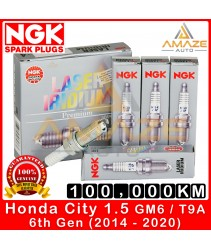NGK Laser Iridium Spark Plug for Honda City I-VTEC GM6 / T9A (2014-2020)