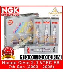 NGK Laser Iridium Spark Plug for Honda Civic 2.0 VTEC ES (2000-2005) - Long Life Spark Plug 100,000KM