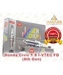NGK Laser Iridium Spark Plug for Honda Civic 1.8 I-VTEC FD (8th Gen)