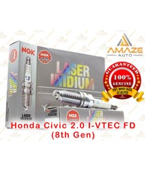 NGK Laser Iridium Spark Plug for Honda Civic 2.0 I-VTEC FD (8th Gen)