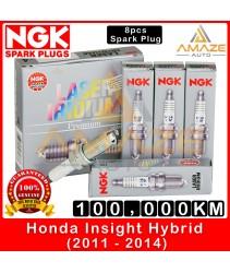 NGK Laser Iridium Spark Plug for Honda Insight 1.3 Hybrid (2011-2014) - Long Life Spark Plug 100,000KM