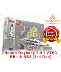NGK Laser Iridium Spark Plug for Honda Odyssey 2.4 I-VTEC (3rd Gen)