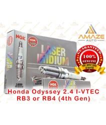 NGK Laser Iridium Spark Plug for Honda Odyssey 2.4 I-VTEC (4th Gen)