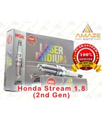 NGK Laser Iridium Spark Plug for Honda Stream 1.8 (2nd Gen)