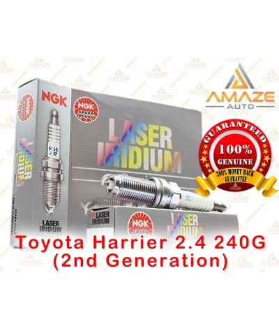 NGK Laser Iridium Spark Plug for Toyota Harrier 2.4 240G (2nd Generation)