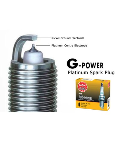 NGK G-Power Platinum Spark Plug for Nissan March 1.4