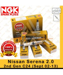 NGK G-Power Platinum Spark Plug for Nissan Serena 2.0 C24 (2nd Gen) (Sept 02 - 13)