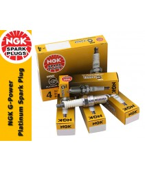 NGK G-Power Platinum Spark Plug for Nissan X-Trail 2.5 T30 (1st Gen)
