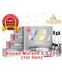 NGK Laser Platinum Spark Plug for Nissan Murano 2.5 Z50 (1st Gen)