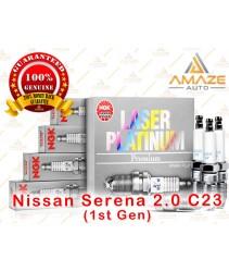 NGK Laser Platinum Spark Plug for Nissan Serena 2.0 C23 (1st Gen)