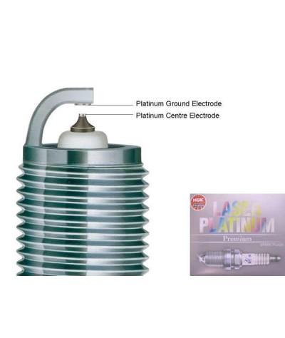 NGK Laser Platinum Spark Plug for Nissan Skyline GT-R R34 2.6