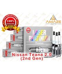 NGK Laser Platinum Spark Plug for Nissan Teana 2.0 (2nd Gen)