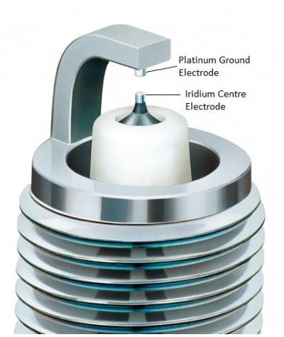 NGK Iridium DF Spark Plug for Nissan Murano 3.5 V6 Z51 (2nd Gen)