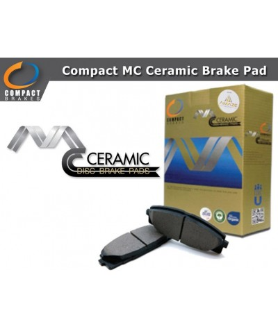 Compact MC Ceramic Brake Pad for Proton Gen2 (Rear)