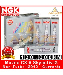 NGK Laser Iridium Spark Plug for Mazda CX-5 (Non-Turbo) Skyactiv-G (2012 onwards)- Long Life Spark Plug 120,000KM