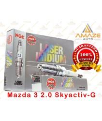 NGK Laser Iridium Spark Plug for Mazda 3 Skyactiv-G