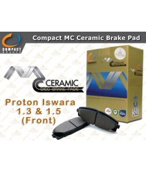Compact MC Ceramic Brake Pad for Proton Iswara 1.3 & 1.5 (Front)