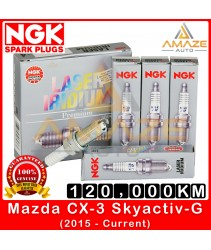 NGK Laser Iridium Spark Plug for Mazda CX-3 Skyactiv-G (2015-Current) - Long Life Spark Plug 120,000KM