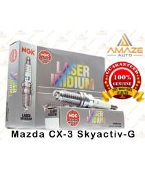NGK Laser Iridium Spark Plug for Mazda CX-3 Skyactiv-G