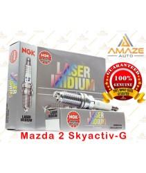 NGK Laser Iridium Spark Plug for Mazda 2 Skyactiv-G