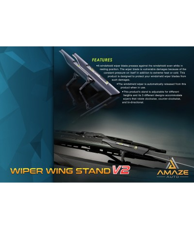 Hypersonic Wiper Wing Stand - Extend your wiper life