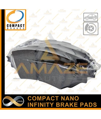Compact Nano Infinity Brake Pad for Toyota Prius (2011 - 2015) (Front)