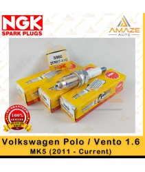 NGK Spark Plug for Volkswagen Polo / Vento 1.6 MK5 (2011 - Current)