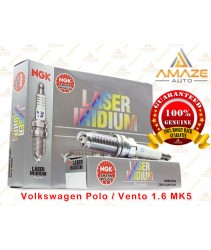 NGK Laser Iridium Spark Plug for Volkswagen Polo / Vento 1.6 MK5