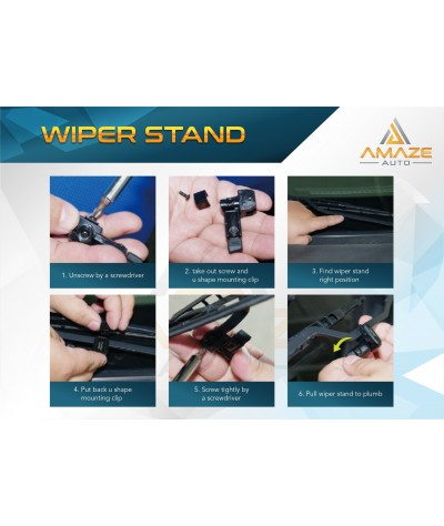 Hypersonic Wiper Stand - Extend wiper life to 2X or 3X