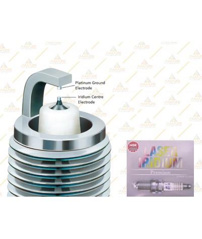 NGK Laser Iridium Spark Plug for Proton Iriz 1.3 & 1.6 (2014 - )