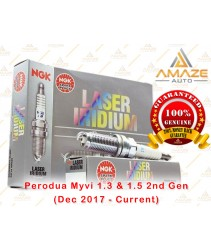 NGK Laser Iridium Spark Plug for Perodua Myvi 1.3 & 1.5 2nd Gen (Dec 2017 - Current)