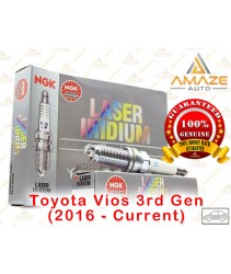 NGK Laser Iridium Spark Plug for Toyota Vios NCP150 CVT 7Speed 3rd Gen (2016 - Current)
