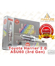 NGK Laser Iridium Spark Plug for Toyota Harrier 2.0 ASU60 (3rd Gen)