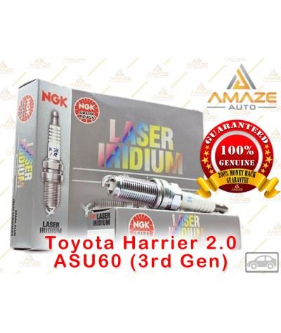 NGK Laser Iridium Spark Plug for Toyota Harrier 2.0 ASU60 (3rd Gen)