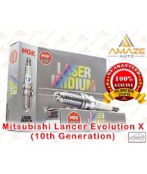 NGK Laser Iridium for Mitsubishi Lancer Evolution X 2.0 Turbo (10th Generation)